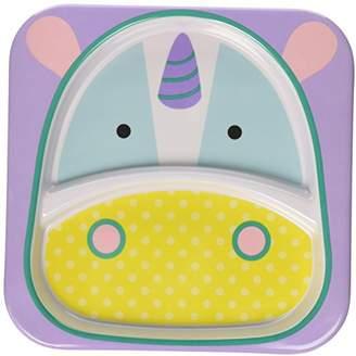 Skip Hop Zoo Children's Plate, Unicorn