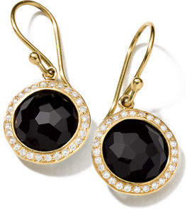 Ippolita 18k Mini Lollipop Earrings with Diamonds