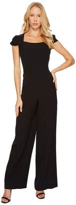 Adrianna Papell Stretch Crepe Jumpsuit Women's Jumpsuit & Rompers One Piece