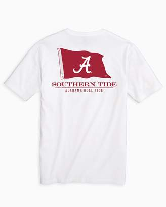 Southern Tide Gameday Nautical Flags T-shirt - University of Alabama