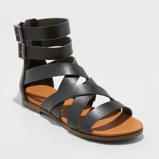 Universal Thread Women's Rosalee Microsuede Gladiator Sandals