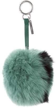 Fendi 2017 ABCharm Fur Bag Charm