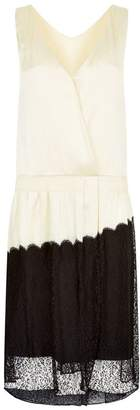 Burberry Lace Trim Slip Dress