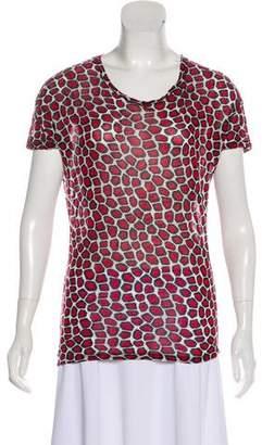 Diane von Furstenberg Jenna Printed T-Shirt