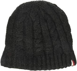 Tommy Hilfiger Men's Chunky Fleece Lined Cable Hat