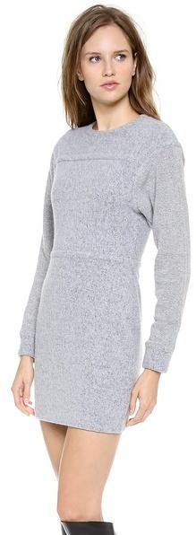 Alexander Wang Brushed Sweatshirt Dress
