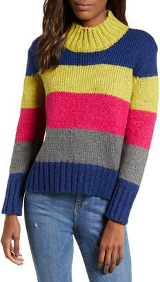 Cotton Emporium Bright Stripe Sweater