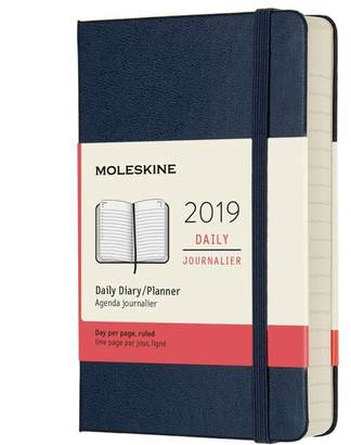 Moleskine 12M DAILY POCKET SAPPHIRE BLUE HARD COVER