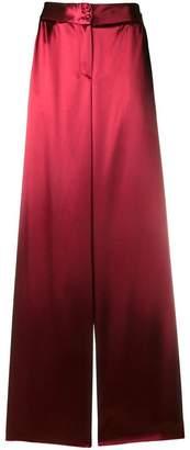 Bottega Veneta wide leg pyjama trousers