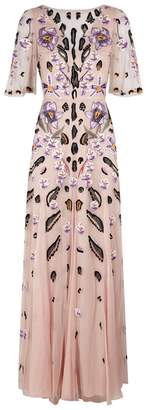 Temperley London Pardus Embroidered Tulle Gown