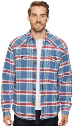 True Grit Mountain High Shirt Jacket with Sherpa Lining Men's Coat