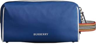 Burberry Heritage Ribbon detail zip pouch