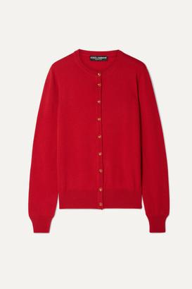 Dolce & Gabbana Cashmere Cardigan - Red