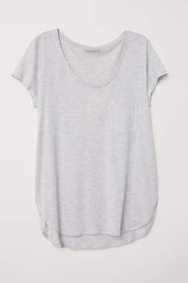 H&M Jersey Top - Gray