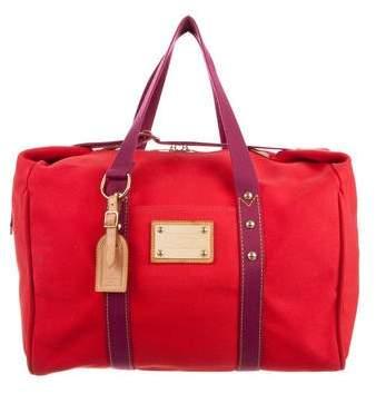 Louis VuittonLouis Vuitton Antiqua Sac We Duffle Bag