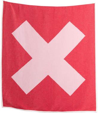 Zigzagzurich X Marks The Spot Woven Artist Blanket by Michele Rondelli