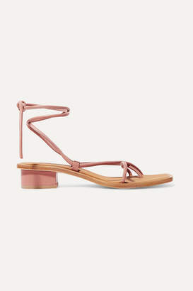 LOQ Ara Leather Sandals - Antique rose