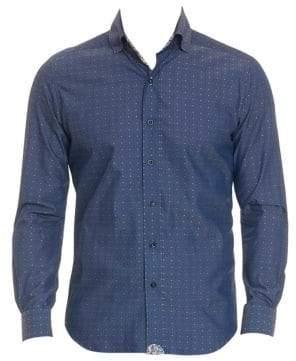 Robert Graham Classic-Fit Norville Polka Dot Button-Down Shirt