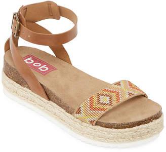 POP Karyn Womens Adjustable Strap Footbed Sandals