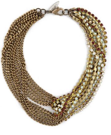 Fallon Victoria Asymmetrical Necklace