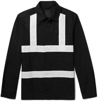 Craig Green Contrast-Trimmed Cotton Shirt