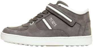 Tod's Nubuck High Top Sneakers