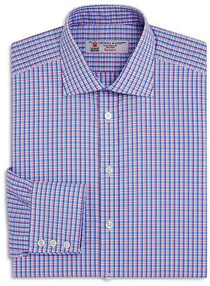 Turnbull & Asser Double Grid Regualr Fit Dress Shirt