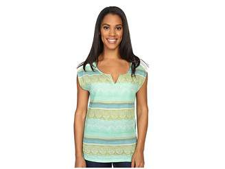 Prana Illiana Top Women's Short Sleeve Pullover