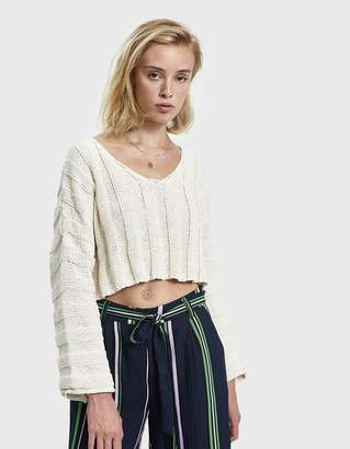 Which We Want Lisa Oversize Cropped Sweater