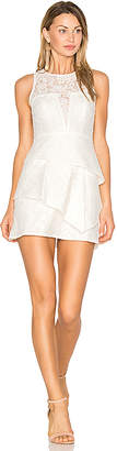 BCBGMAXAZRIA Daegan Dress in White $338 thestylecure.com