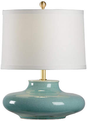 Chelsea House Gainsboro Porcelain Table Lamp - Celadon