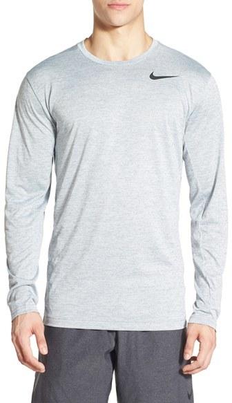Men's Nike Long Sleeve Dri-Fit Training T-Shirt