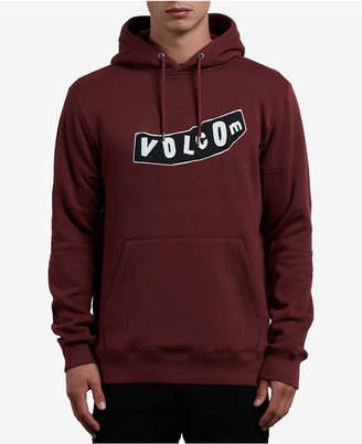 Volcom Men's Supply Stone Logo-Print Hoodie