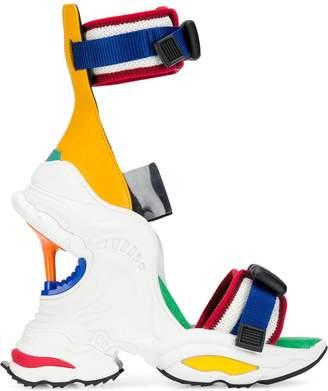 DSQUARED2 wedge heel sneaker sandals