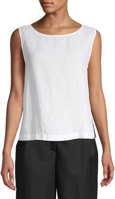 Eileen Fisher Organic Linen Sleeveless Top