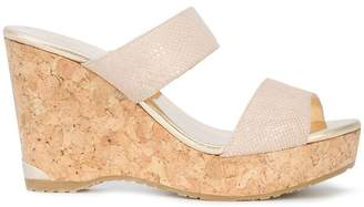 Jimmy Choo Parker 100 wedge sandals