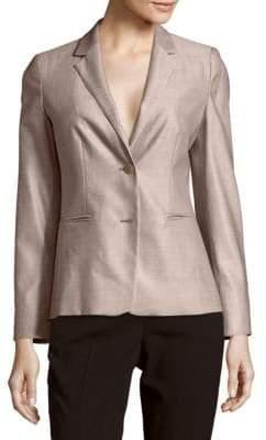 Max Mara Aerovia Silk-Blend Blazer