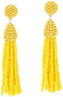 BaubleBar Beaded Pinata Tassel Drop Earrings