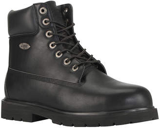 Lugz Mens Drifter 6 Steel Toe Water Resistant Slip Resistant Steel Toe Work Boots Lace-up