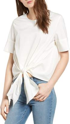Bishop + Young BISHOP AND YOUNG Front Tie Blouse