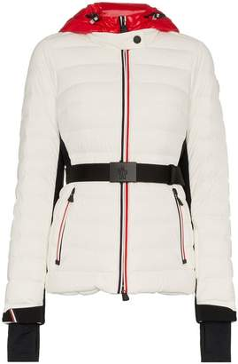 Moncler Bruche Belted Padded Jacket