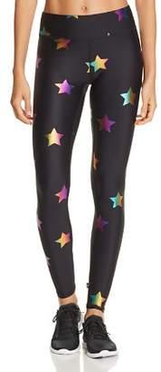 Terez Rainbow Star Foil Leggings