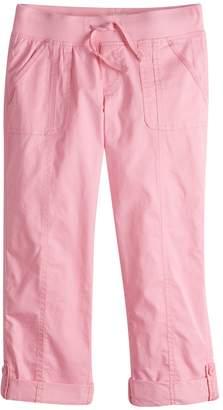 So Girls 7-16 & Plus Size SO Utility Rolled Cuff Capri Pants