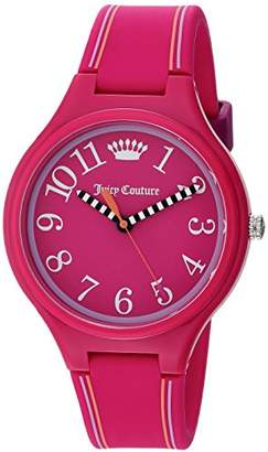 Juicy Couture Women's 'Day Dreamer' Quartz Plastic and Silicone Casual Watch