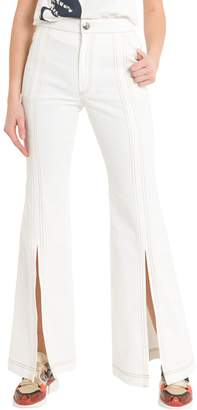 Chloé Flared Jeans With Slits