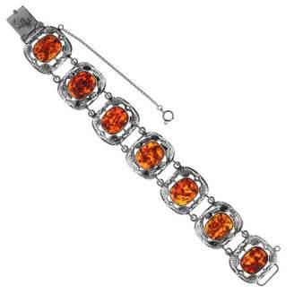 Ostsee-Schmuck Women's Bracelet 925 / 000 Sterling Silver with Amber
