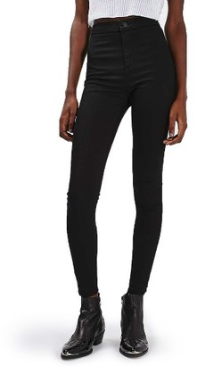 Women's Topshop Joni Released Hem Skinny Jeans $70 thestylecure.com