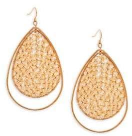 Panacea Crystal Teardrop Earrings