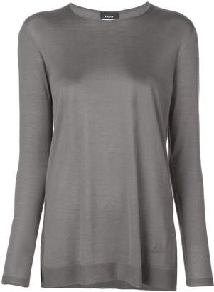 Akris long sleeve top