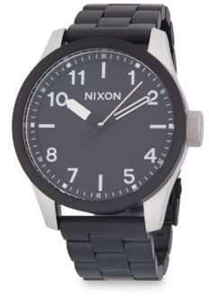 Nixon Safari Stainless Steel Strap Watch